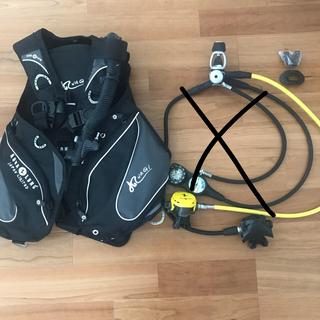 アクアラング(Aqua Lung)のダイビング  重器材 BC レギュレータ オクトパス  計器 アクアラング(マリン/スイミング)