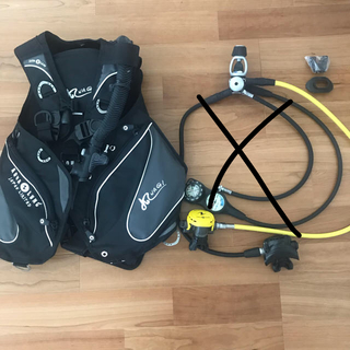 アクアラング(Aqua Lung)のダイビング  重器材 BC  アクアラング(マリン/スイミング)