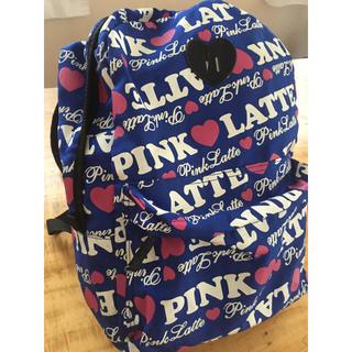 ピンクラテ(PINK-latte)のピンクラテ リュック☆PINK LATTE ブルー(リュックサック)