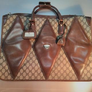 グッチ(Gucci)の激安‼【オールドGUCCI】大型バッグ 貴重・ビンテージ 中古品 (トラベルバッグ/スーツケース)