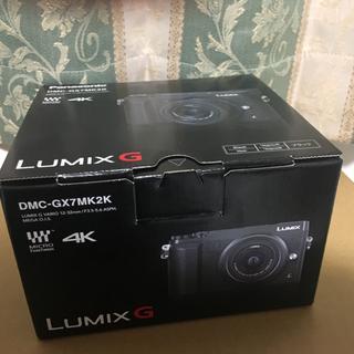 Panasonic - 新品未開封 LUMIX DMC-GX7MK2K 標準ズームレンズキット