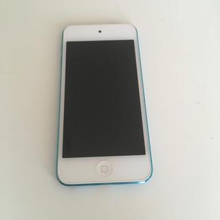 アイポッドタッチ(iPod touch)のIpod touch (第5世代)ブルー 16GB(その他)