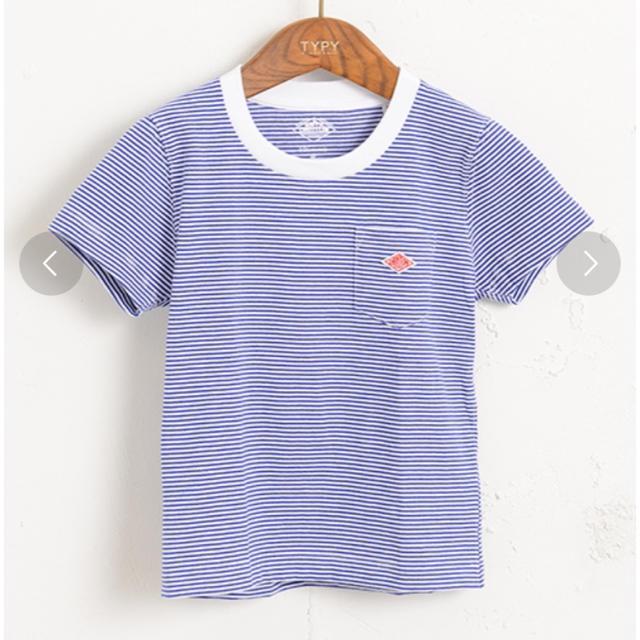DANTON(ダントン)のDANTON ダントン キッズ Tシャツ 110相当 キッズ/ベビー/マタニティのキッズ服 男の子用(90cm~)(Tシャツ/カットソー)の商品写真