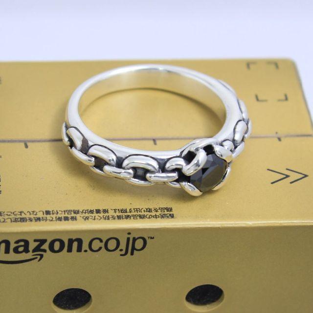 Justin Davis(ジャスティンデイビス)のジャスティンデイビス 12号 アンチェインリング 廃盤 希少 レディースのアクセサリー(リング(指輪))の商品写真