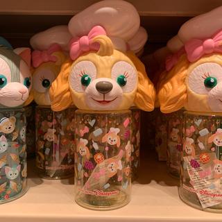 ダッフィー - 【香港ディズニー新商品】クッキー ウォーターボトル 水筒
