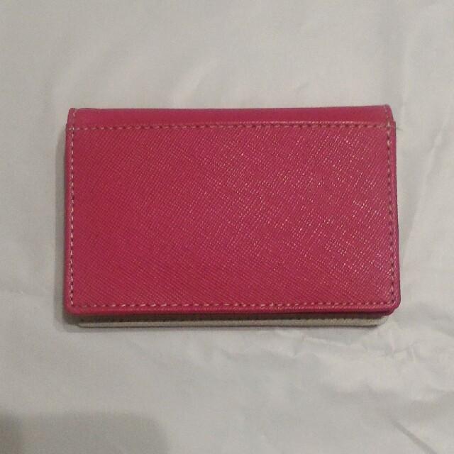 カード・名刺入れ 牛革 未使用 レディースのファッション小物(名刺入れ/定期入れ)の商品写真