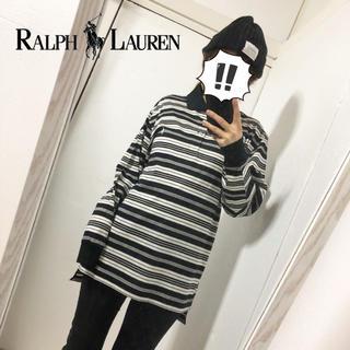 ラルフローレン(Ralph Lauren)の【RALPH LAUREN】ポニー刺繍 ボーダー ポロシャツ 美品(ポロシャツ)