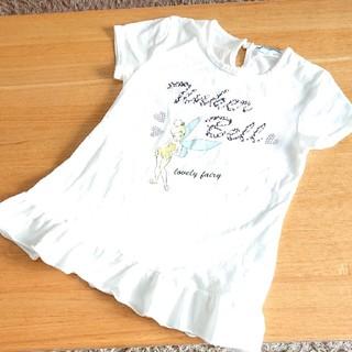 ティンカーベル(ティンカーベル)のディズニー ティンカーベル 半袖Tシャツ 130(Tシャツ/カットソー)