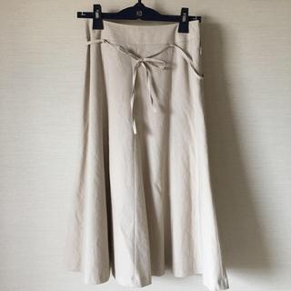 ニューヨーカー(NEWYORKER)の【美品】ニューヨーカーのフレアスカート(ロングスカート)