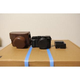 パナソニック(Panasonic)のPanasonic DMC-LX100 コンパクトデジタルカメラ ケース付き(コンパクトデジタルカメラ)