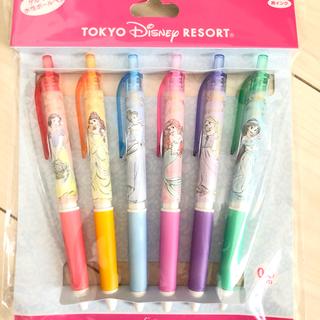 ディズニー(Disney)のプリンセス ボールペン 6本セット(ペン/マーカー)