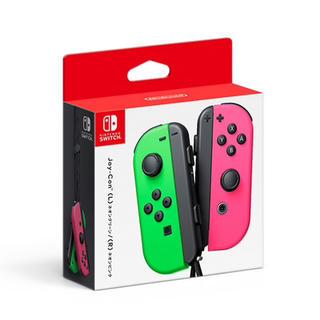 ニンテンドースイッチ(Nintendo Switch)のジョイコン Joy-Con(L) ネオングリーン/(R) ネオンピンク(その他)