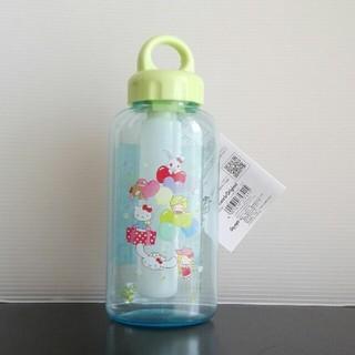 サンリオ(サンリオ)のサンリオ 保冷スティック付きクリアボトル(水筒)