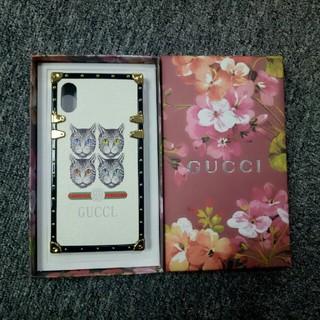 グッチ(Gucci)のGUCCI グーチ IPHONE xsMas ケース(iPhoneケース)