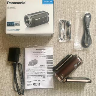 パナソニック(Panasonic)の[送料無料] panasonic W580M ビデオカメラ(ビデオカメラ)