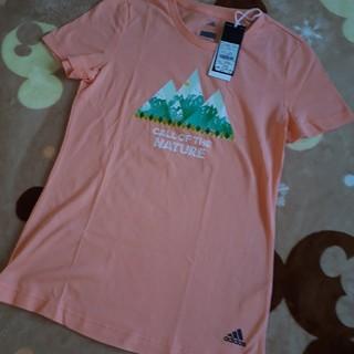 アディダス(adidas)のadidas新品半袖ティシャツアディダス(Tシャツ/カットソー(半袖/袖なし))