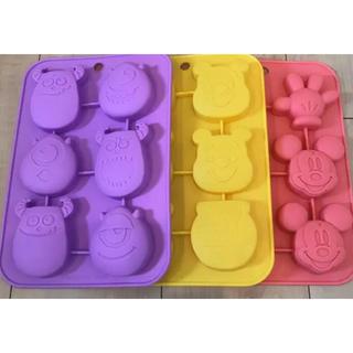 ディズニー(Disney)のシリコン ケーキ型(調理道具/製菓道具)