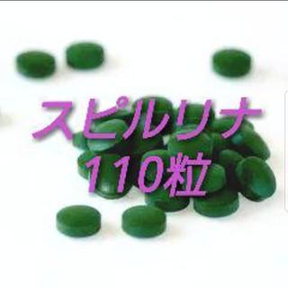 【湿気や劣化に強いチャック付きアルミ袋】 スピルリナ110粒(22g×1袋)(アクアリウム)