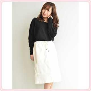 セブンデイズサンデイ(SEVENDAYS=SUNDAY)の☆ボーダースカート☆(ひざ丈スカート)