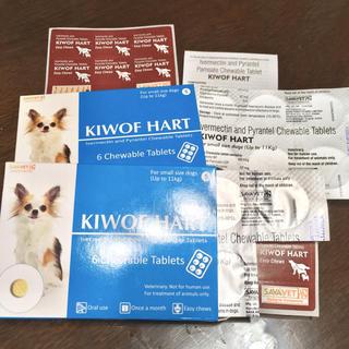 フィラリア予防薬「キウォフハート」チュアブル S 小型犬用 11粒(犬)