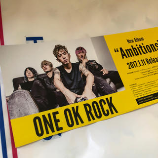 ワンオクロック(ONE OK ROCK)のONE OK ROCK パネル(国内アーティスト)