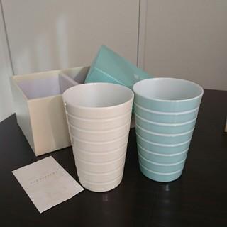 タチキチ(たち吉)の【新品】マグカップ 2個セット(グラス/カップ)
