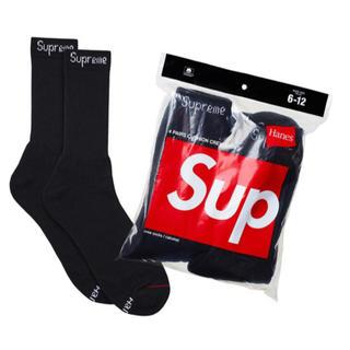 シュプリーム(Supreme)の黒 supreme socks(ソックス)