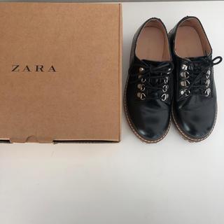 ザラキッズ(ZARA KIDS)のZARA レースアップシューズ(ローファー)