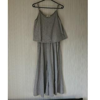 オゾック(OZOC)のOZOCオールインワン☆サロペットキャミソールジーナシスカーキーシャツ同梱(オールインワン)