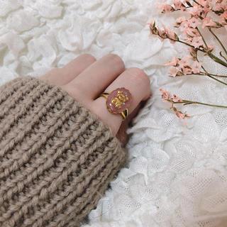 merry jenny - vintage bear ring