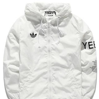アディダス(adidas)のyeezus tour 3 windbreaker jacket (ナイロンジャケット)