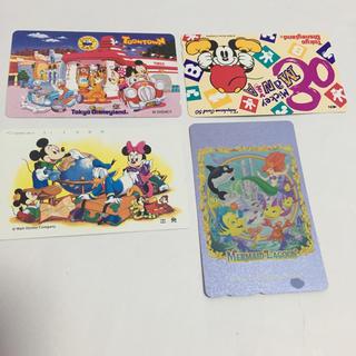 ディズニー(Disney)のディズニー テレホンカード 【未使用】(その他)