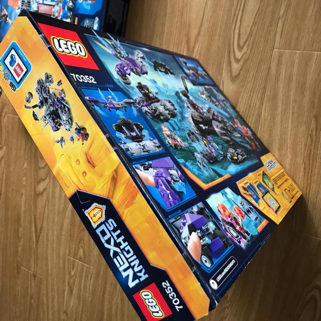 Lego(レゴ)のレゴ ネックスナイツ 70352 、70317 2点セット 新品未開封  キッズ/ベビー/マタニティのおもちゃ(知育玩具)の商品写真