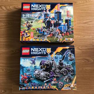レゴ(Lego)のレゴ ネックスナイツ 70352 、70317 2点セット 新品未開封 (知育玩具)