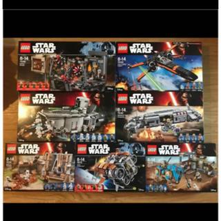 レゴ(Lego)のレゴ スターウォーズ フォースの覚醒 7箱のセット ミニフィグなし・本体のみ(知育玩具)