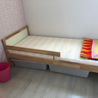 イケア(IKEA)のIKEA子供ベッド(シングルベッド)