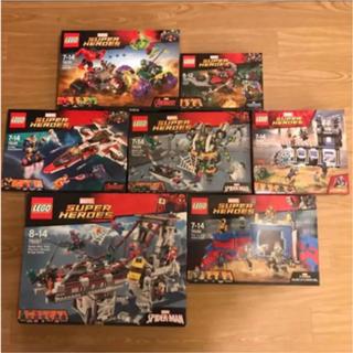 レゴ(Lego)のレゴ スーパーヒーローズ 7箱のセット ミニフィグなし・本体のみ(知育玩具)