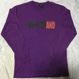 ネスタブランド(NESTA BRAND)のNESTA BRAND×THREE DICE ロンT Purple L(Tシャツ/カットソー(七分/長袖))
