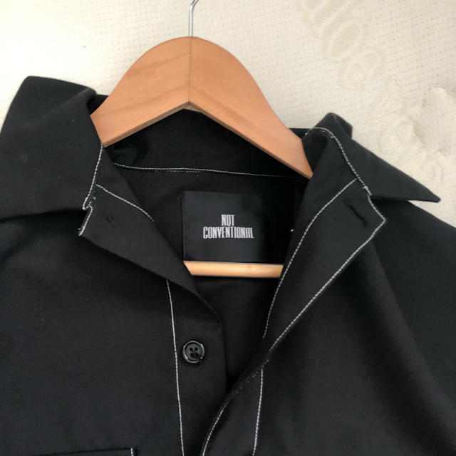 HARE(ハレ)のnot conventional ステッチシャツ メンズのトップス(シャツ)の商品写真