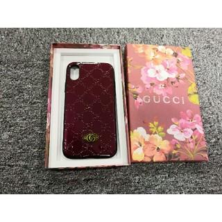 グッチ(Gucci)のGUCCI グッチ  iphoneケース  レッド  iphone7/8/X (iPhoneケース)