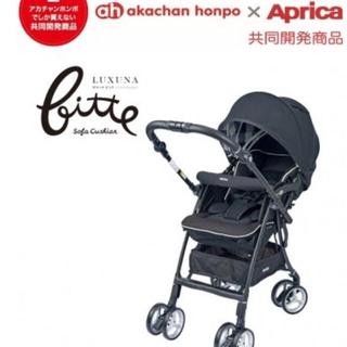 アップリカ(Aprica)のアップリカ   ラクーナ    ベビーカー   2018年   新型 ブラック(ベビーカー/バギー)
