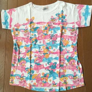 バナバナ(VANA VANA)のヴァナヴァナ Tシャツ うさぎ レース 140(Tシャツ/カットソー)