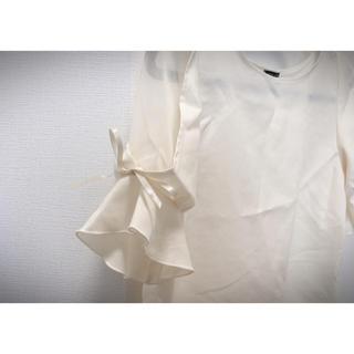 シマムラ(しまむら)のしまむら 2枚セット 袖レース ブラウス 半袖(シャツ/ブラウス(半袖/袖なし))