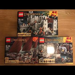 レゴ(Lego)のレゴ LEGO ロードオブザリング 3点セット 新品未使用(知育玩具)
