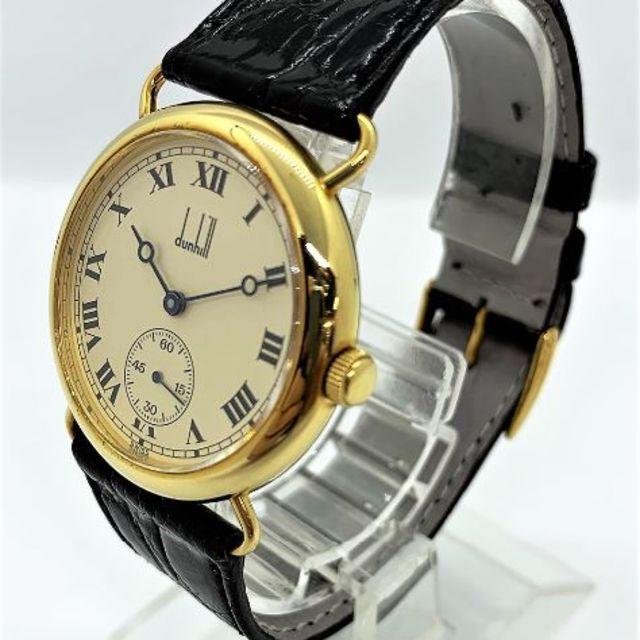 ff94a5520126 Dunhill(ダンヒル)のDUNHILL K18YG センテナリー 100本限定 ダンヒル 手巻き時計 メンズ