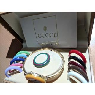 グッチ(Gucci)のGUCCI クオーツ チェンジリング GP 100-L(腕時計)