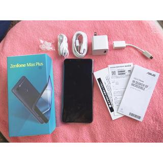 アンドロイド(ANDROID)のZenfone Max Plus 新品・未使用(スマートフォン本体)