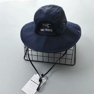 アークテリクス(ARC'TERYX)のARC'TERYX アークテリクス 紺色 バケットハット (麦わら帽子/ストローハット)