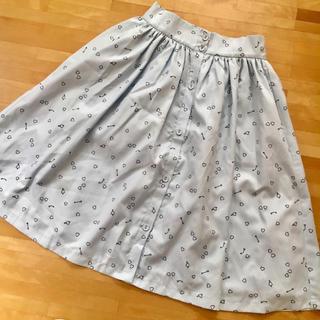 メリージェニー(merry jenny)の〈merry  jenny〉ハートアロー柄スカート(ひざ丈スカート)