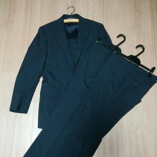 スーツカンパニー(THE SUIT COMPANY)のTHE SUIT COMPANY     スーツカンパニー 濃紺ストライプスーツ(セットアップ)